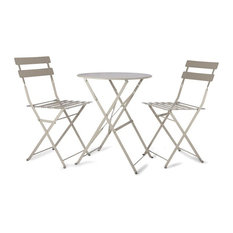 Bistro Set Table U0026 2 Chairs In Clay   Garden Bistro Sets