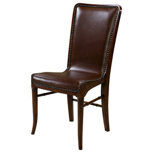 Leather Modern Side Chair