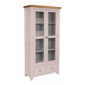 Ventry Double Display Cabinet