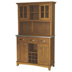 Santa Fe Corner China Cabinet - Traditional - China Cabinets And Hutches - by Sunny Designs, Inc.
