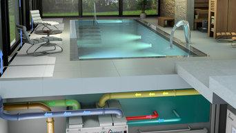 Schwimmbadklima