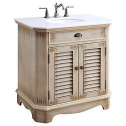 Farmhouse Bathroom Vanities And Sink Consoles by Chans Furniture