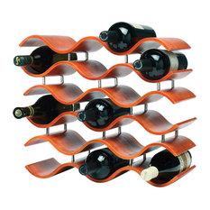 Bali 15-Wine Rack, Orange
