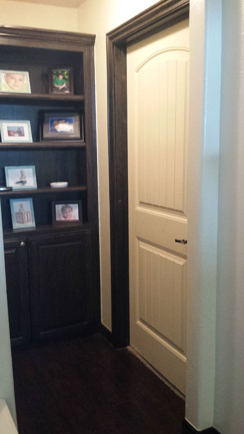 Door Trim Diffe Color Then Baseboard