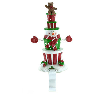 13 Wooden Gift Tree Advent Calendar Tablepiece Contemporary