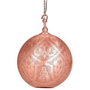 Sahar Brass Hook Pendant With Matte Copper Finish, Large