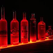 LED Illuminated Liquor Shelf and Display, 5 Foot