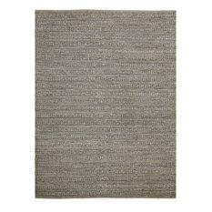Naturals Dark Gray Flat-Weave Jute Rug 8'x10'