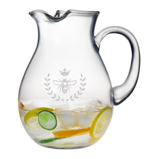 Vintage Bee Classic Round Pitcher