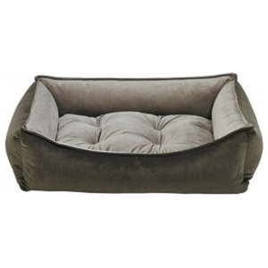 Surprising Library Sofa Pebble Gray Transitional Dog Beds By Machost Co Dining Chair Design Ideas Machostcouk