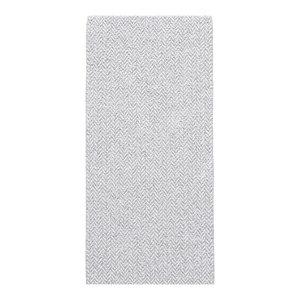 Ella Grey Vinyl Floor Cloth, 150x200 cm