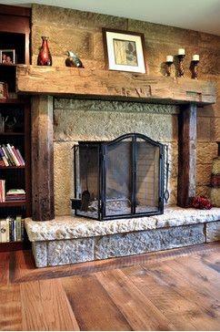 Rustic Fireplace Mantel Design Ideas