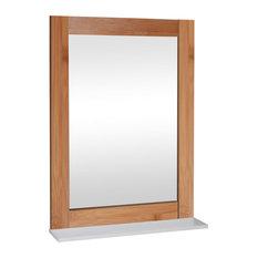Miroir de salle de bain for Miroir salle de bain bambou