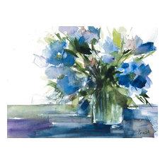"""Blue Haven I Canvas Art"""