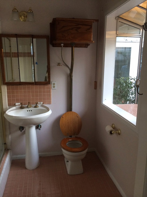 Bathroom Remodel Keeping The Classic Old Toilet