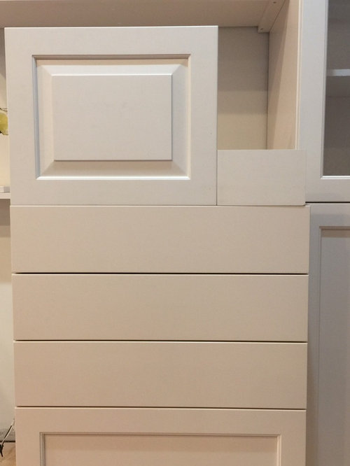 Brookhaven Cabinets Came In Different From Samples