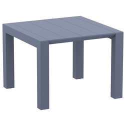 Transitional Outdoor Dining Tables by Compamia