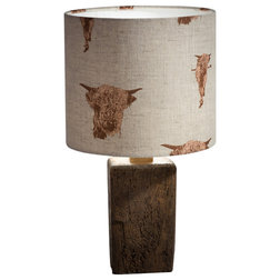 Rustic Table Lamps by Tiffany Jayne