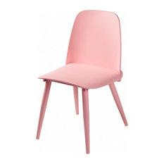 Midcentury Modern Soco Chair, Pink