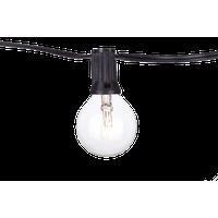 Savannah Clear 48' 24 Lights, Clear Bulbs