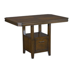 Standard Furniture   Standard Furniture Avion Counter Height Table In  Cherry   Indoor Pub And Bistro