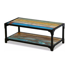 vidaXL Solid Reclaimed Wood Coffee Table