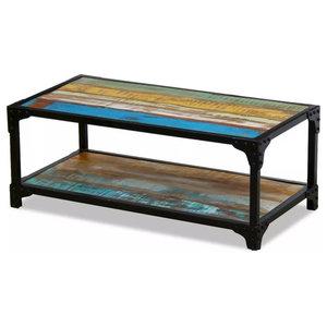 vidaXL Solid Reclaimed Wood Coffee Table