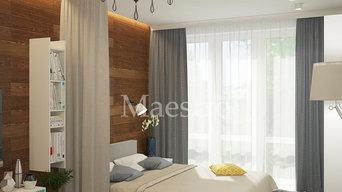 Дизайн-проект квартиры для молодой пары