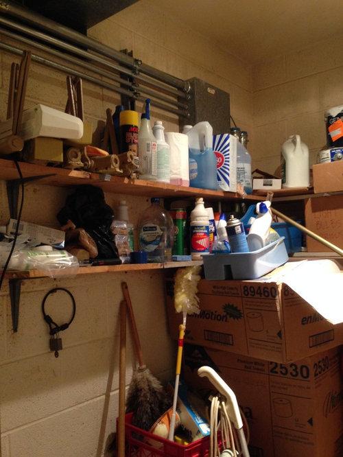 Janitor S Closet Organization