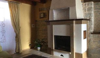 casa unifamiliare in Borgo medievale termocamino legna-pellet