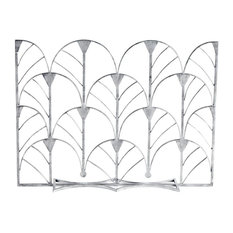 Newgate Fireplace Screens & Accessories in Distressed Silver