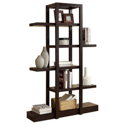 Transitional Bookcases by ergode