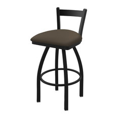 821 Catalina 25-inch Low Back Swivel Counter Stool With Canter Earth Seat