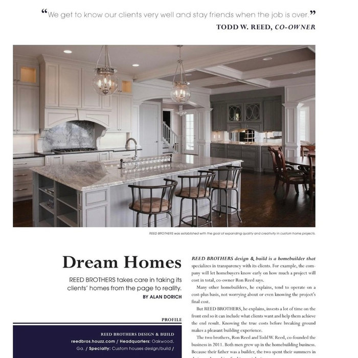 MODERN HOME BUILDER Magazine feature 2017