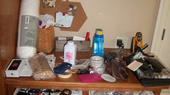 Organize and prep for sale