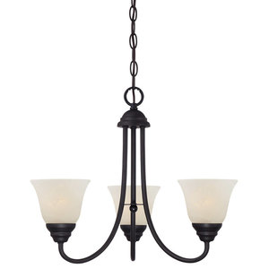 Designers Fountain Kendall 1 Tier Chandelier, Oil Rubbed Bronze