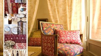 Idarica Gazzoni Upholstery Fabrics and Wall Paper