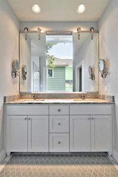 Master Bathroom Barn Door poll: barn doors - yes or no?