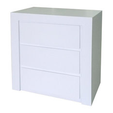Beatriz Bedside Table, White