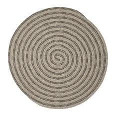 Woodland, Round Rug, Dark Gray 10', Round