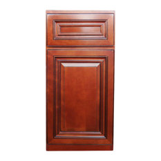 Bojobo B15Cac Base Kitchen Cabinet, Caribbean Cherry