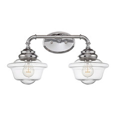 savoy house fairfield 2 light fixture chrome bathroom vanity lighting