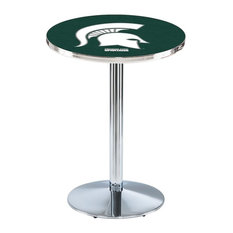 Michigan State Pub Table 28-inchx36-inch