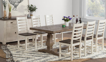 Farmhouse Dining Furniture With Free Shipping
