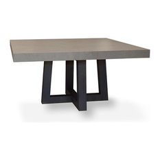 Concrete Top Dining Room Tables Houzz