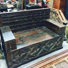 Asian Carving Reclaimed Interior   Sofas