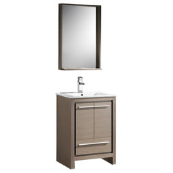 Nice Modern Bathroom Vanities And Sink Consoles by Burroughs Hardwoods Inc