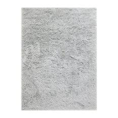 """Glendale Silver Shag Rug 5'x7'6"""""""