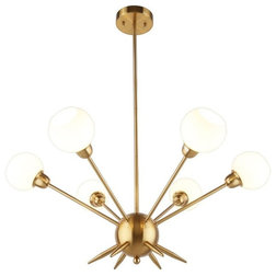 Midcentury Chandeliers by Lami Light