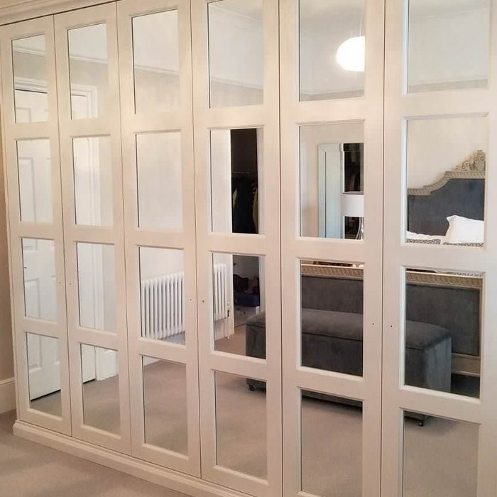 Mirrored doors  wardrobes design
